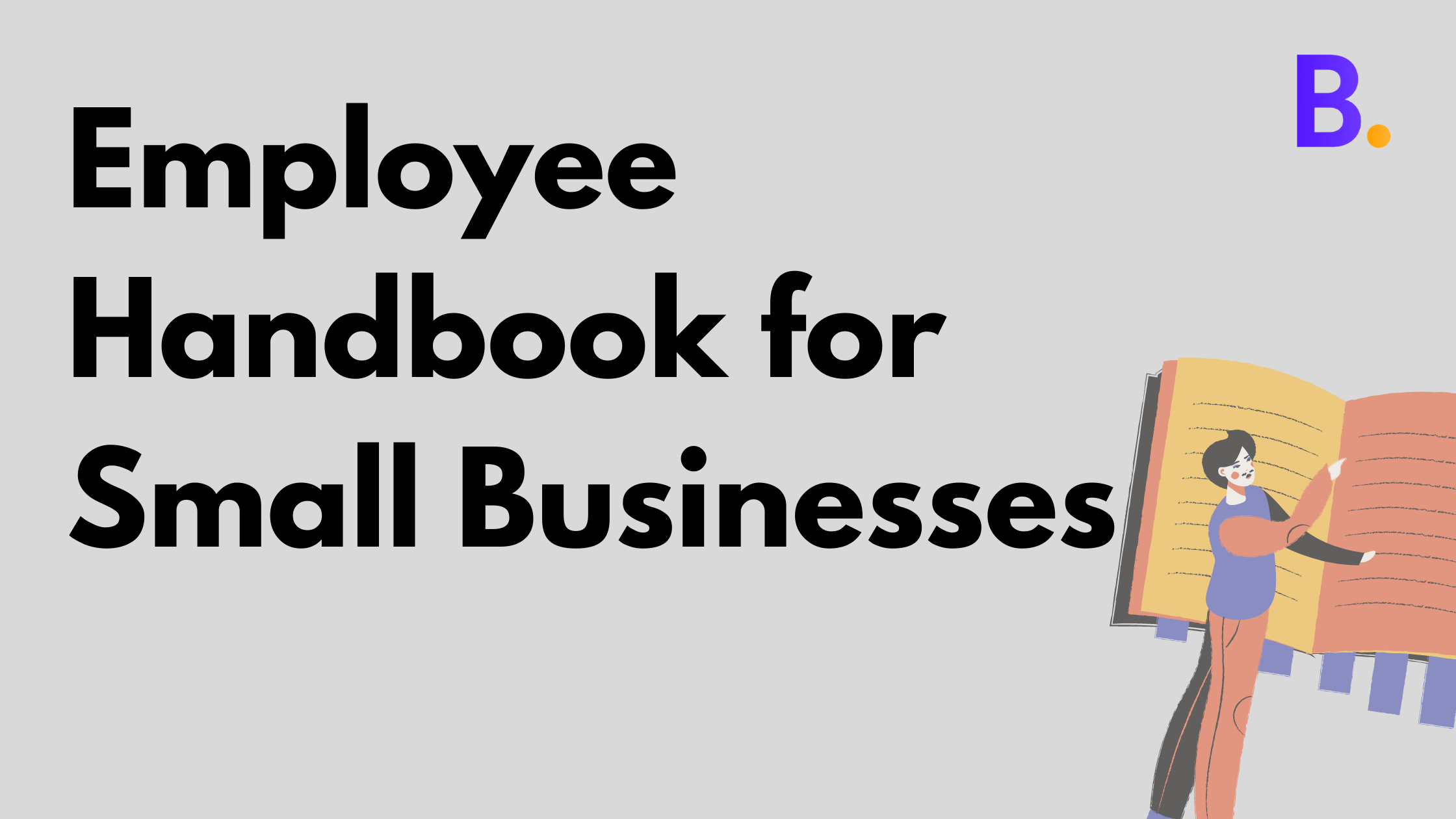 Employee Handbook for Small Businesses